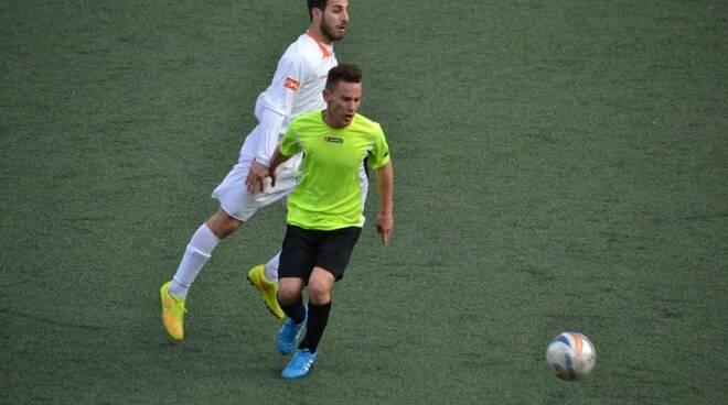 Eldi Macaj, attaccante classe '96, neo acquisto della Cogornese 2015.