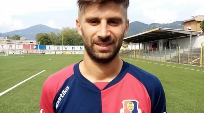 Stefano Selvatico, centrocampista classe '89, neo acquisto del Sestri Levante.