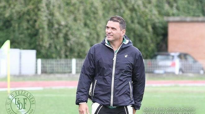 Alberto Ruvo allenatore del Sestri Levante.