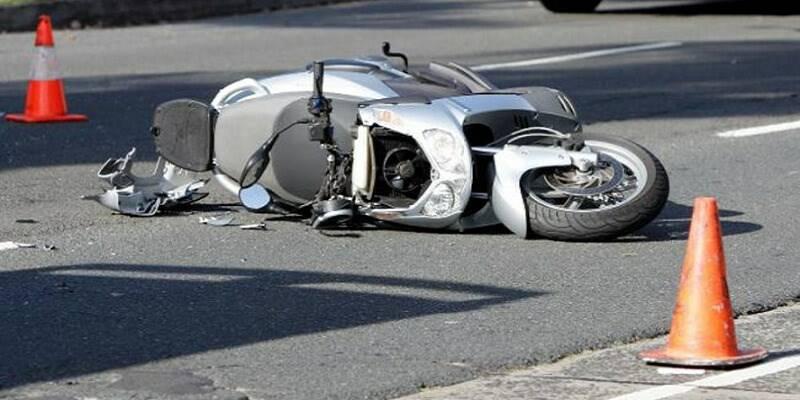 Ancora un incidente che coinvolge un motociclista.