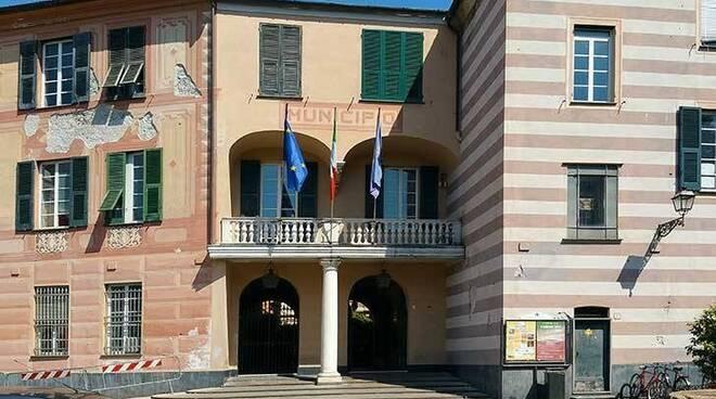 Il municipio di Rapallo.