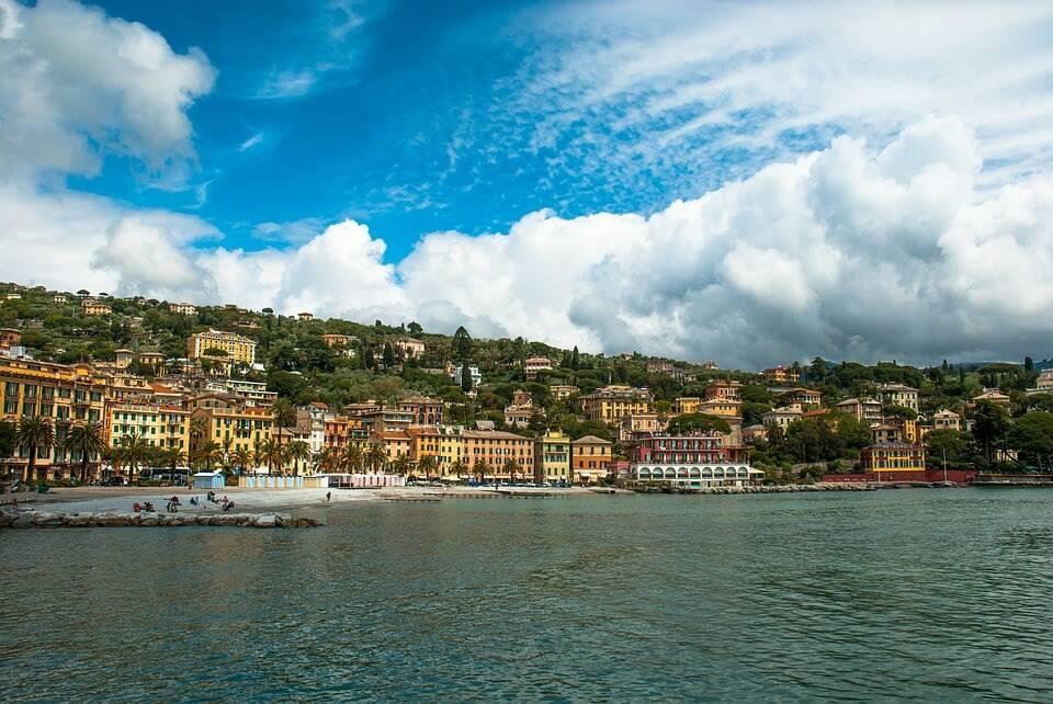 Il panorama di Santa Margherita Ligure.