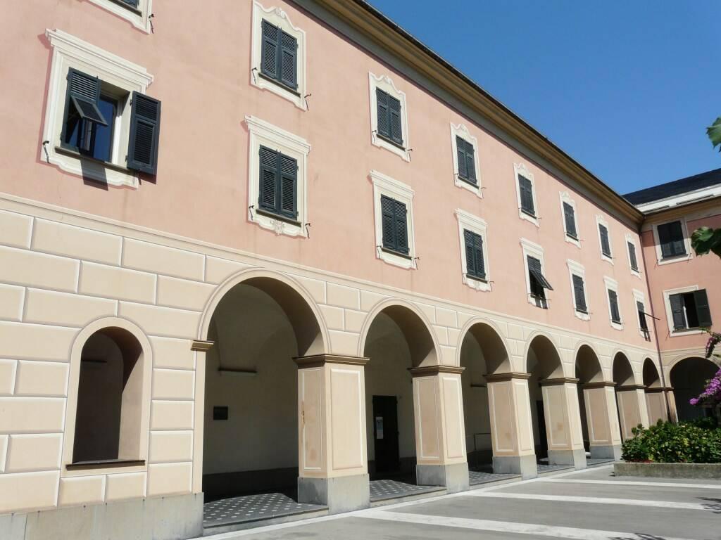 La biblioteca civica di Lavagna.