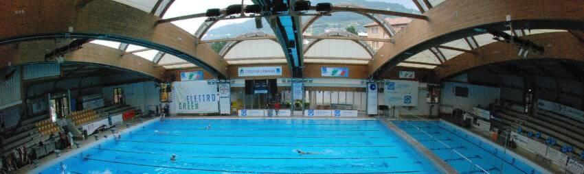La piscina di Camogli.
