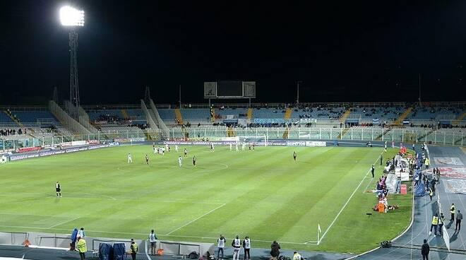 """Lo stadio """"Adriatico"""" di Pescara."""
