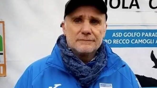 Mauro Foppiano allenatore del Golfo Paradiso PRCA.