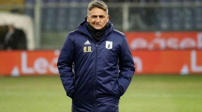 Roberto Boscaglia allenatore della Virtus Entella.