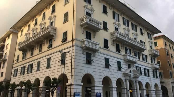 Il palazzo di Confedilizia a Chiavari.
