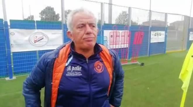 L'allenatore della Sammargheritese Camisa Marco.