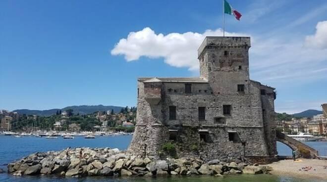 L'antico castello di Rapallo.