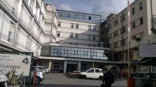 L'ospedale di Lavagna.