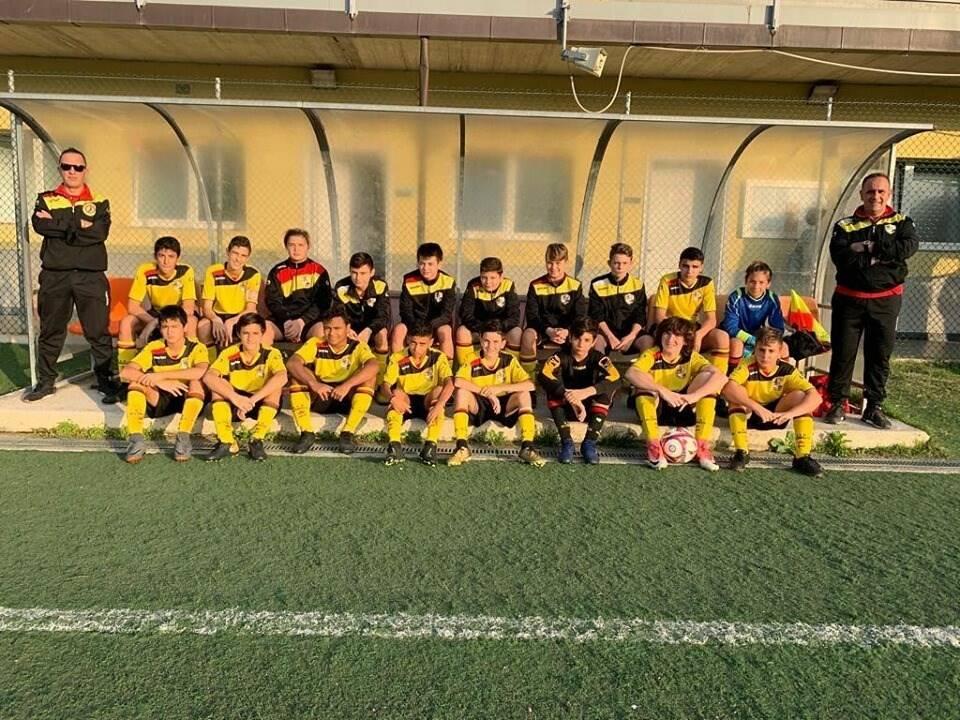 La formazione Under14 del Rapallo Rivarolese.