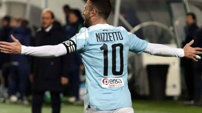 Luca Nizzetto, centrocampista e capitano della Virtus Entella.