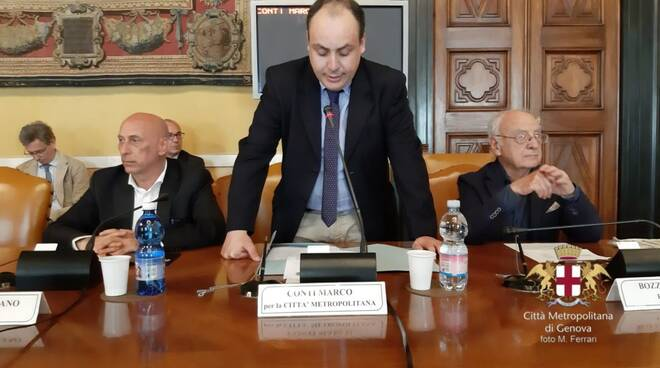 Marco Conti consigliere metropolitano con Liguria Popolare e consigliere comunale di Sestri Levante.