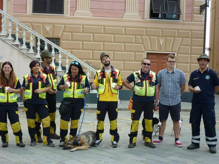 Protezione Civile a Sestri Levante.