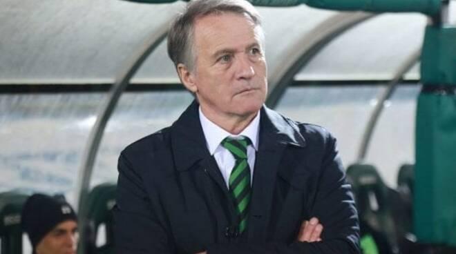 Attilio Tesser allenatore del Pordenone.