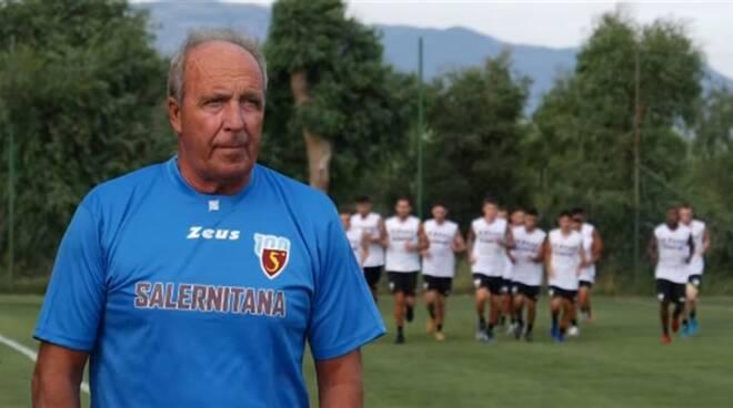 Giampiero Ventura allenatore della Salernitana.
