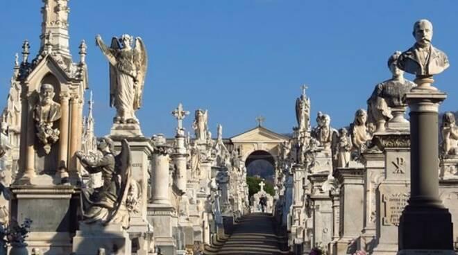 Il cimitero monumentale di Lavagna.