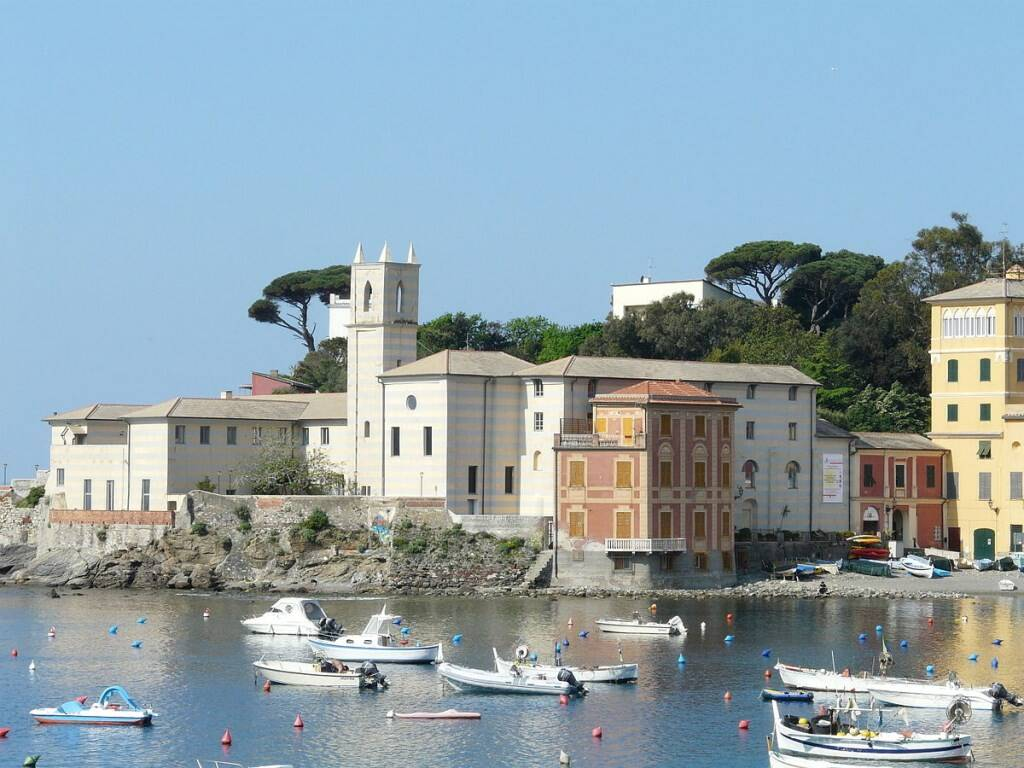 Il Convento dell'Annunziata di Sestri Levante.