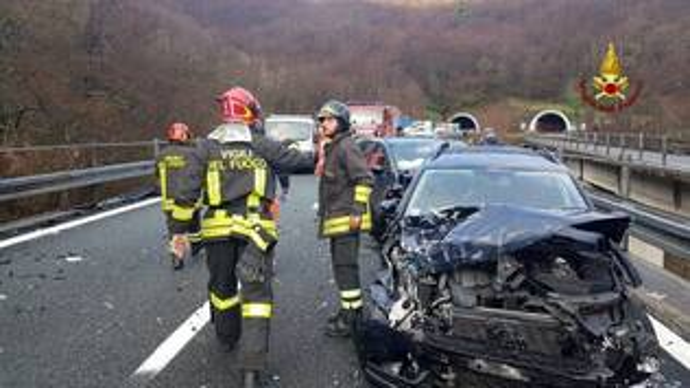 Incidente in autostrada.