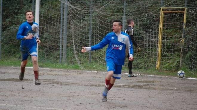 Lombardini Nicolò attaccante del Follo San Martino.
