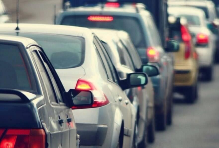 Traffico, autostrada, code