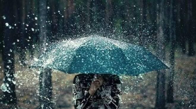 Forti piogge e temporali in arrivo.