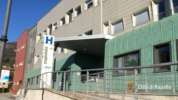 L'Ospedale di Rapallo.