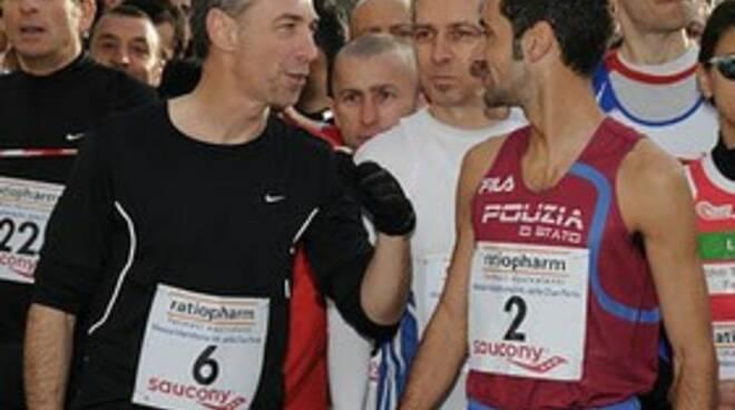 La partenza della Mezza Maratona delle Due Perle in una scorsa edizione.