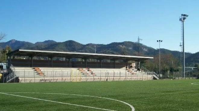 "Lo stadio ""Favole Hans Christian Andersen"" di Sestri Levante."