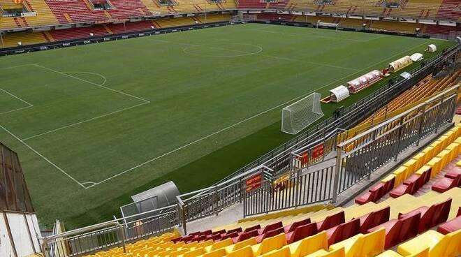 Lo stadio Vigorito di Benevento.
