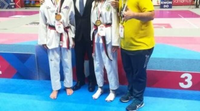 Medaglie d'oro per due atleti di Sori ai Campionati Italiani di Taekwondo