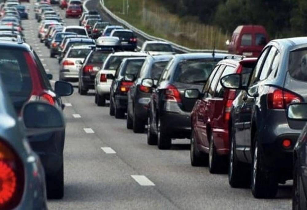 Traffico intenso.