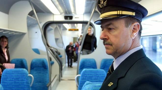 Un controllore del treno.