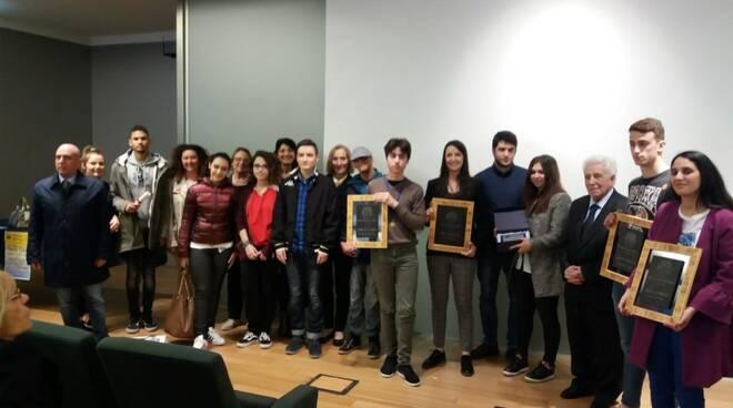 Foto premiazione del V premio Dallorso.