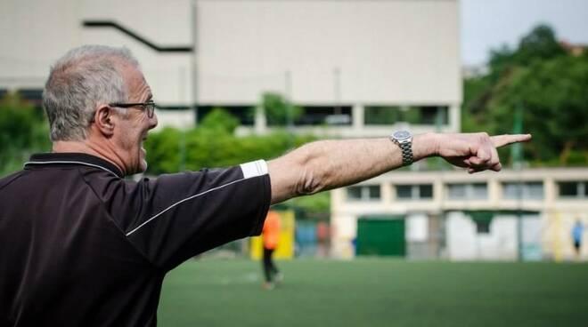 Mister Guido Poggi allenatore del Bogliasco F.c.