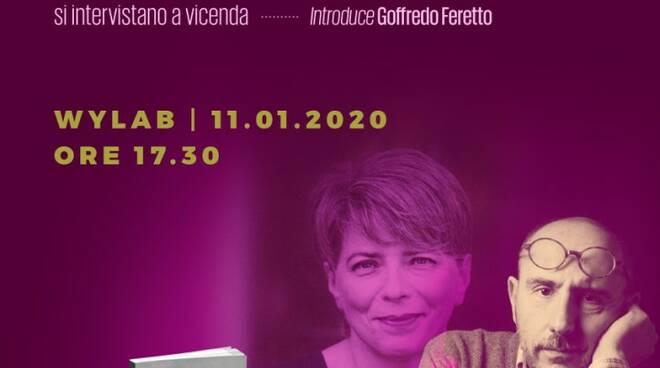 """""""Parlami di te"""" a Wylab con Bruno Morchio e Raffaella Romagnolo"""