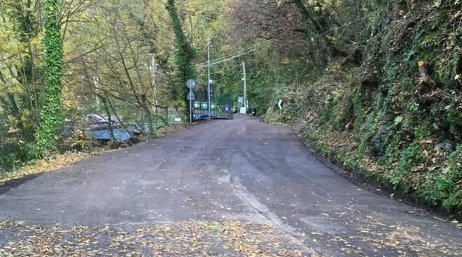 Strada per Spinarola