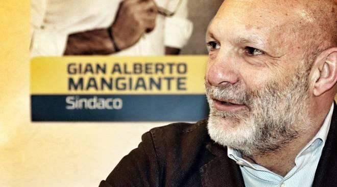 Il sindaco di Lavagna Gian Alberto Mangiante.