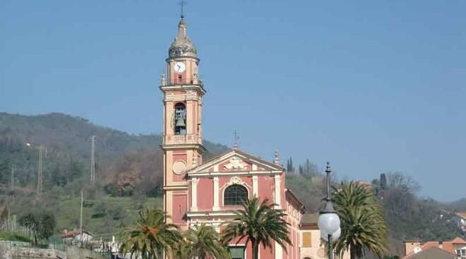 La Chiesa di San Michele Arcangelo a Casarza Ligure.