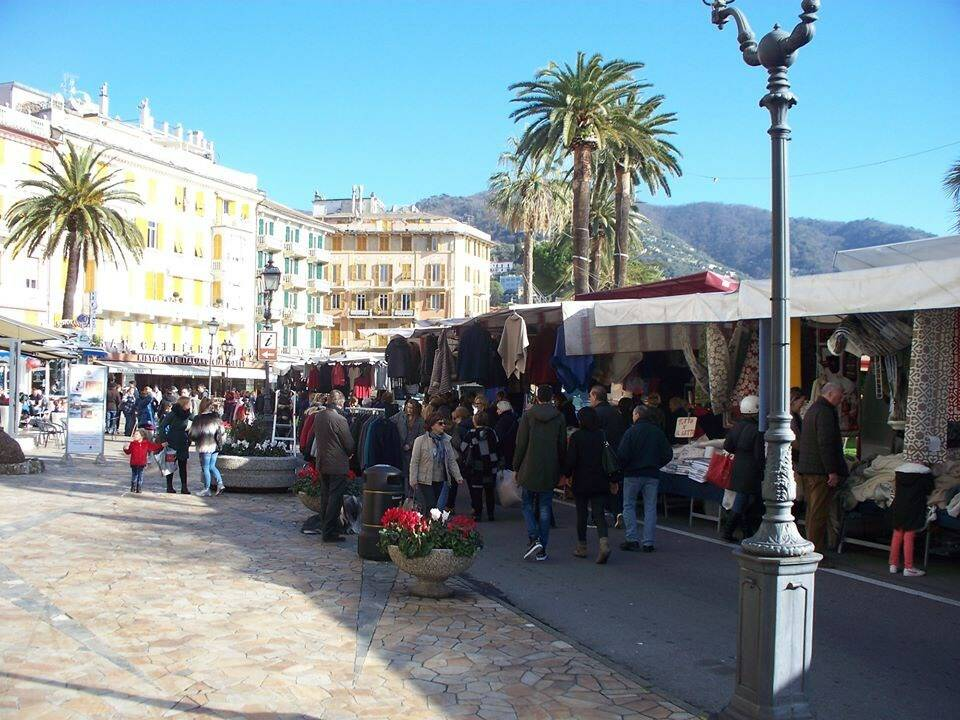 Mercato a Rapallo