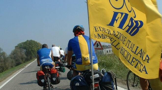 Un uscita in bicicletta di FIAB Tigullio.