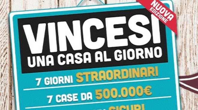 """Uno dei sette vincitori di """"Vincesi una casa al giorno"""" a Rapallo."""