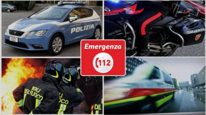 112 numero per le emergenze.