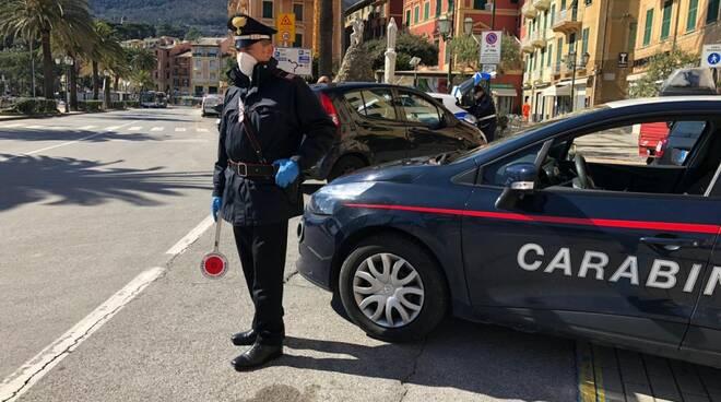 Controlli stradali serrati di Polizia e Carabinieri a Santa Margherita Ligure