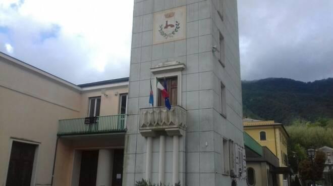 Il municipio di Cicagna.