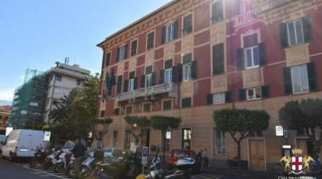 Sede del municipio di Lavagna.