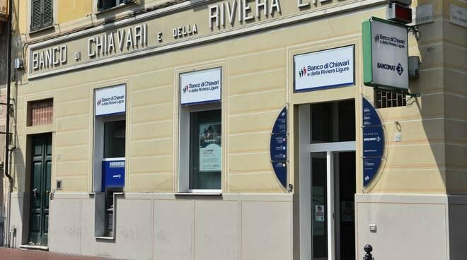 Una filiale del Banco di Chiavari.