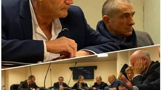 I Consiglieri Regionali della Liguria Muzio e Costa.