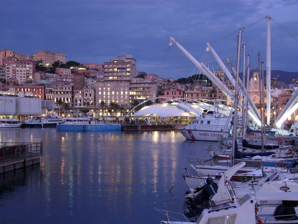Il Porto Antico di Genova.